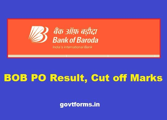 bank of baroda manipal po 2014 cut off