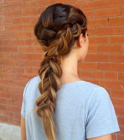 30 Elegant French Braid Hairstyles French Braid Hairstyles Thick Hair Styles Womens Hairstyles