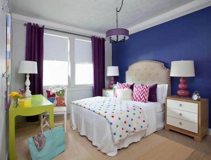 nice wände streichen ideen wohnideen schlafzimmer blaue
