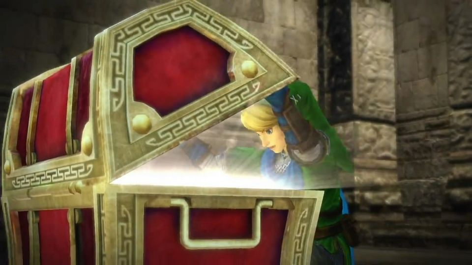 Hyrule Warriors WiiU Treasure chest opening! ZeldaHW