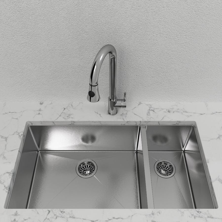 Cantrio Double Bowl Stainless Steel Undermount Kitchen