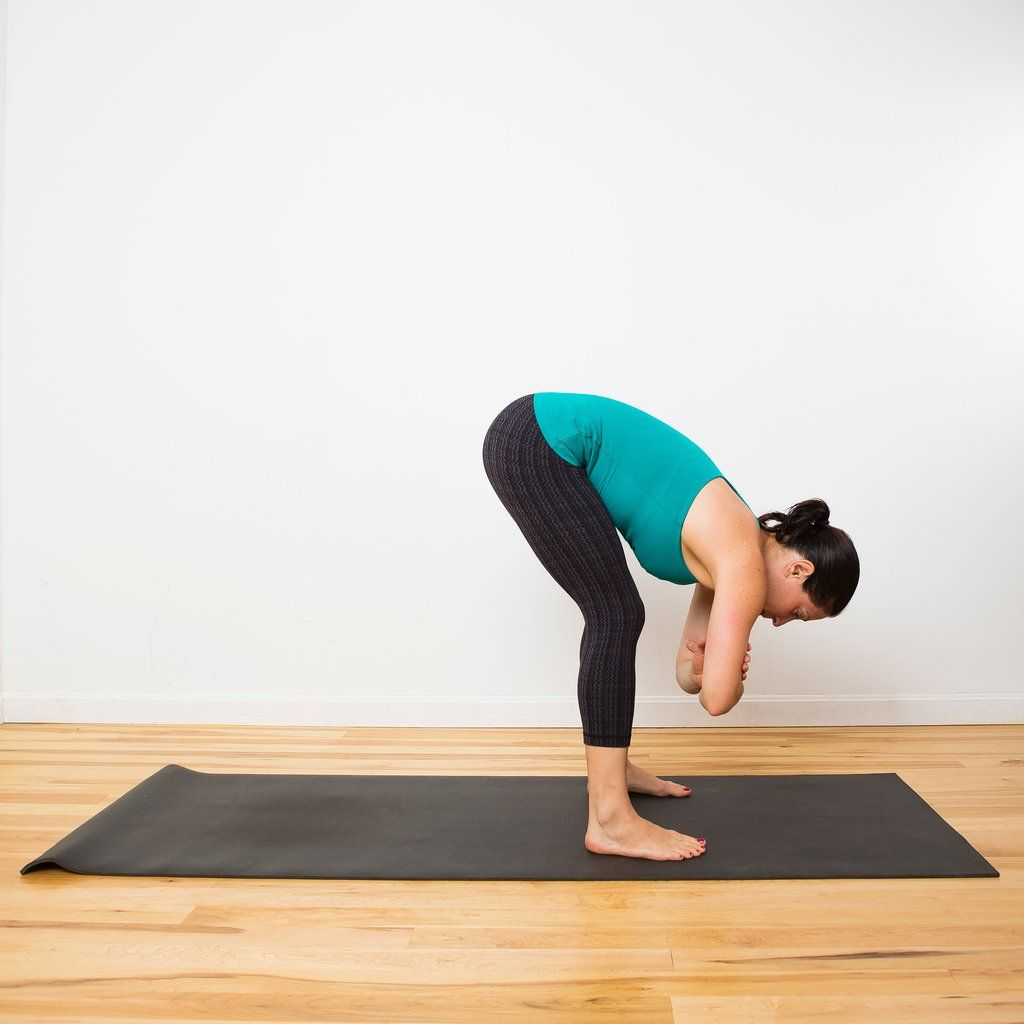 Relaxed Standing Forward Bend