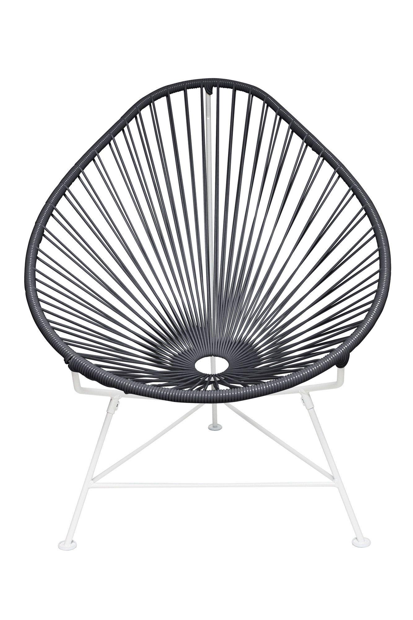 Canela Steel & Vinyl Papasan Chair   Products   Pinterest