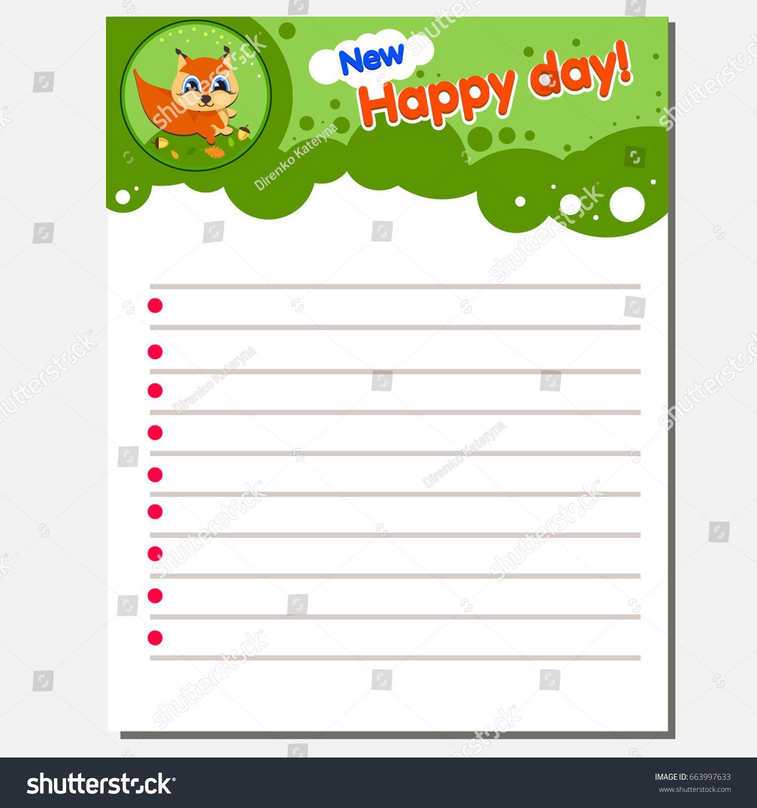 Writing Practice Printable Worksheet For Preschool