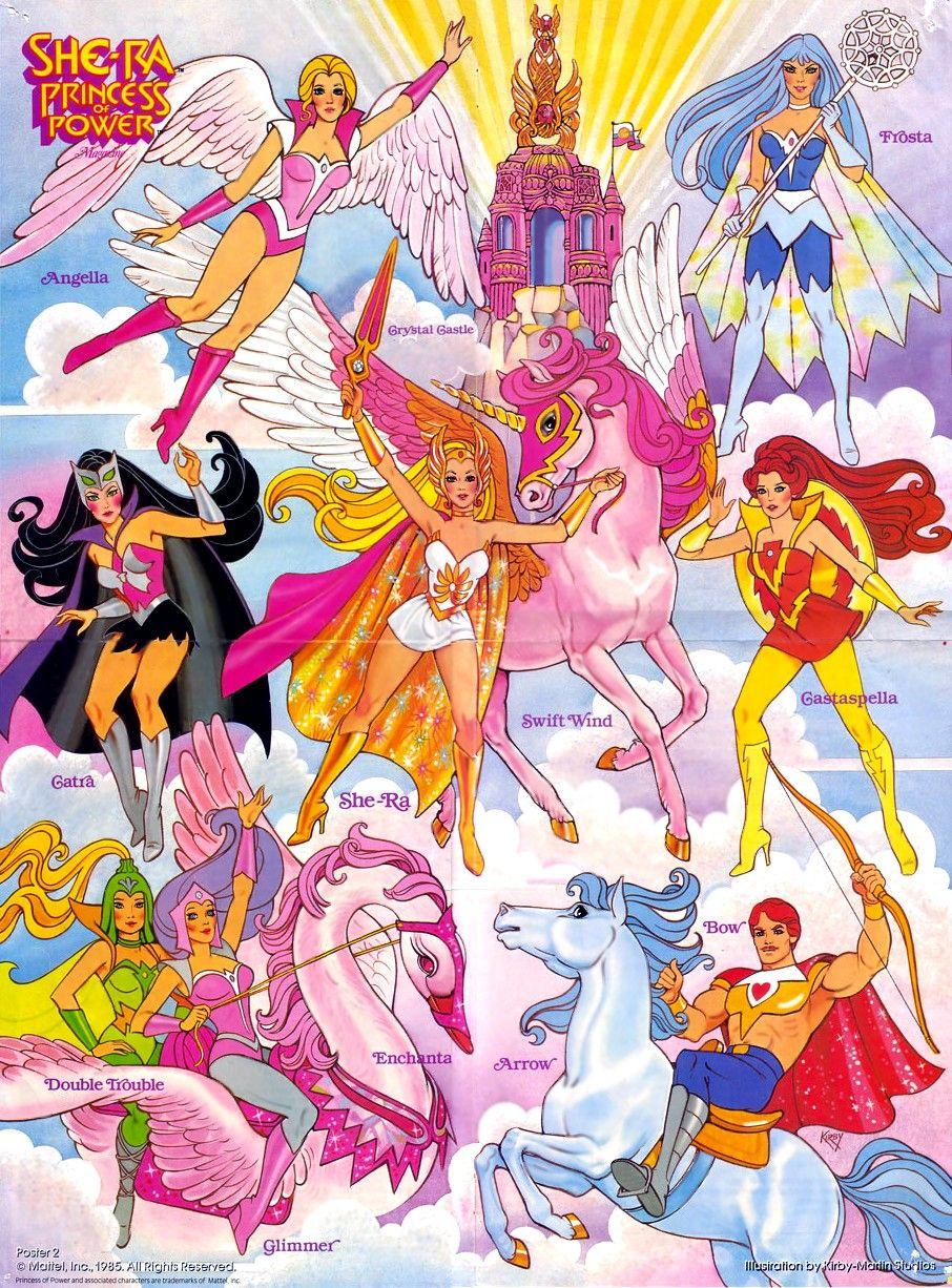 Totally rad She-ra poster | 80s cartoons, Cartoon, 80s cartoon