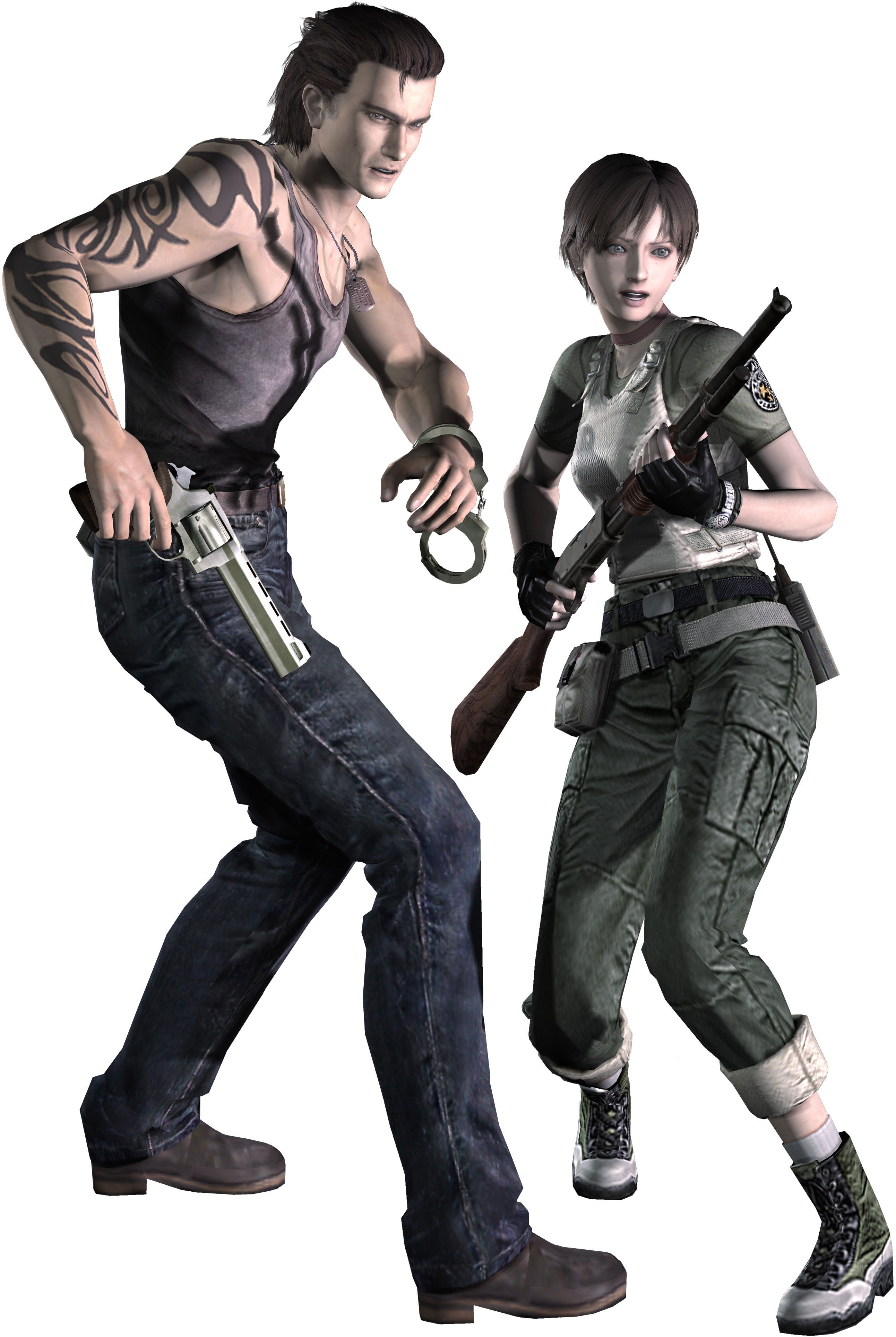 Resident Evil 0 ~ Billy Coen and Rebecca Chambers SHIP SHIP