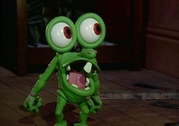 Mr Bumpy: Hey, Closet Monster!