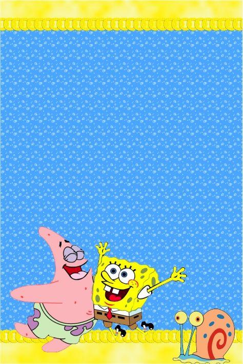 Pin De Marina Em Bob Esponja Em 2019 Spongebob Birthday