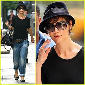 A fedora with short hair   she actually looks really cute!!!! There s hope  for me!  ) c98632b181c
