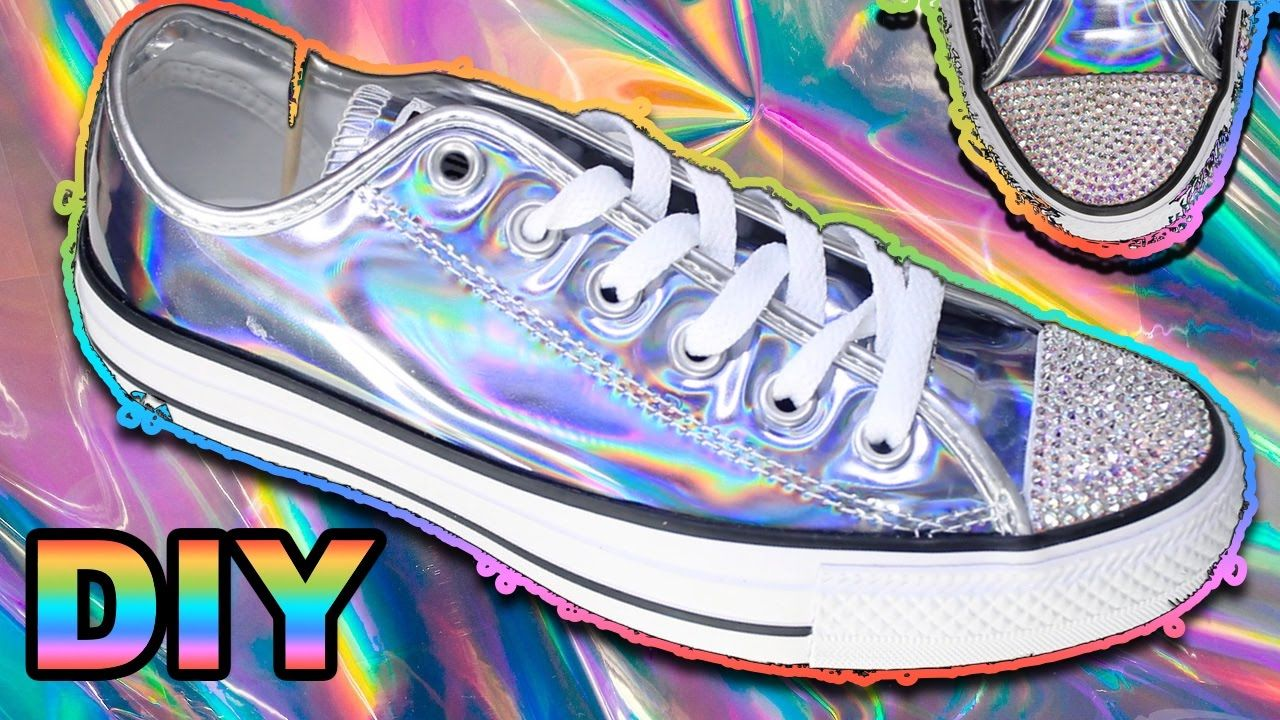 ca8f401fd97d DIY HOLOGRAPHIC CONVERSE (HOLO)