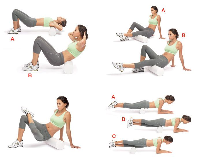 how to use massage roller on lower back