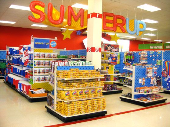 Targets In Store Displays Mechtronics Retail InStore Signage - retail sales associate