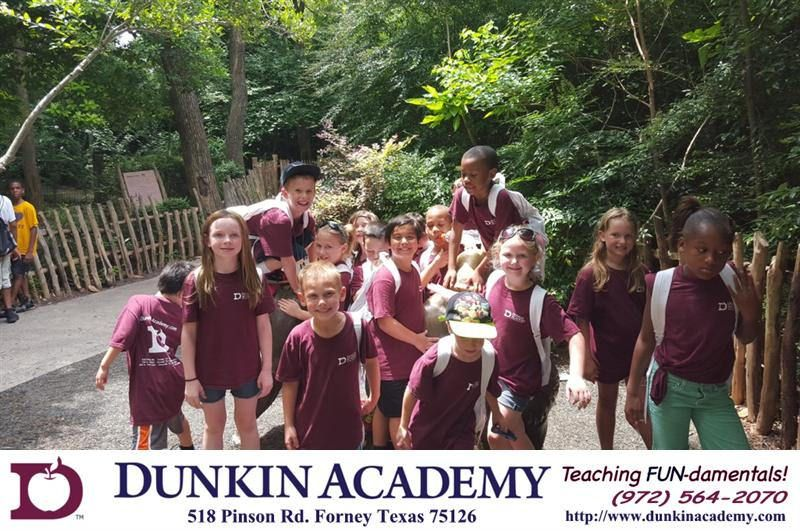 Dunkin academy field trip to the dallas zoo dallas zoo