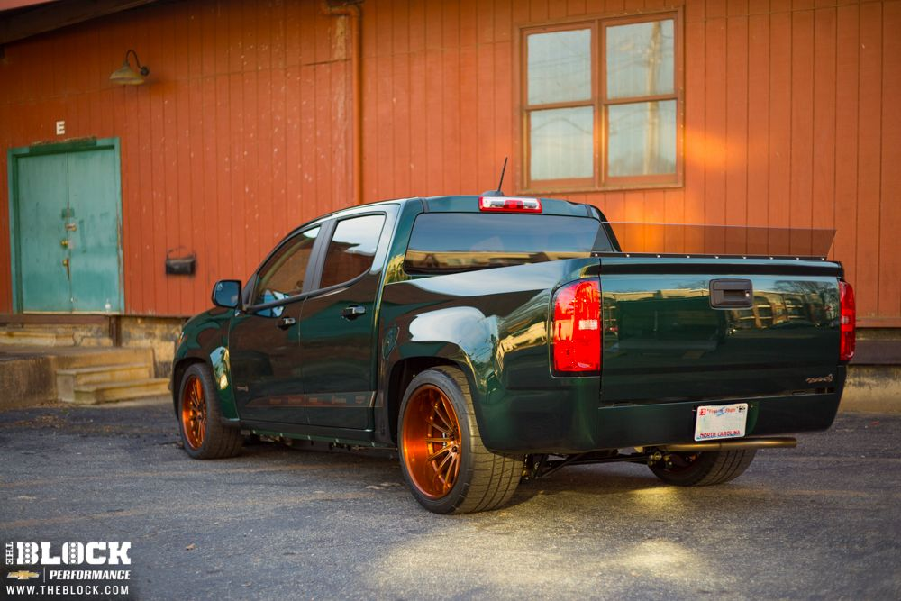 Lifted Chevy Colorado >> This 750HP supercharged Chevy Colorado, from Mallett Cars ...