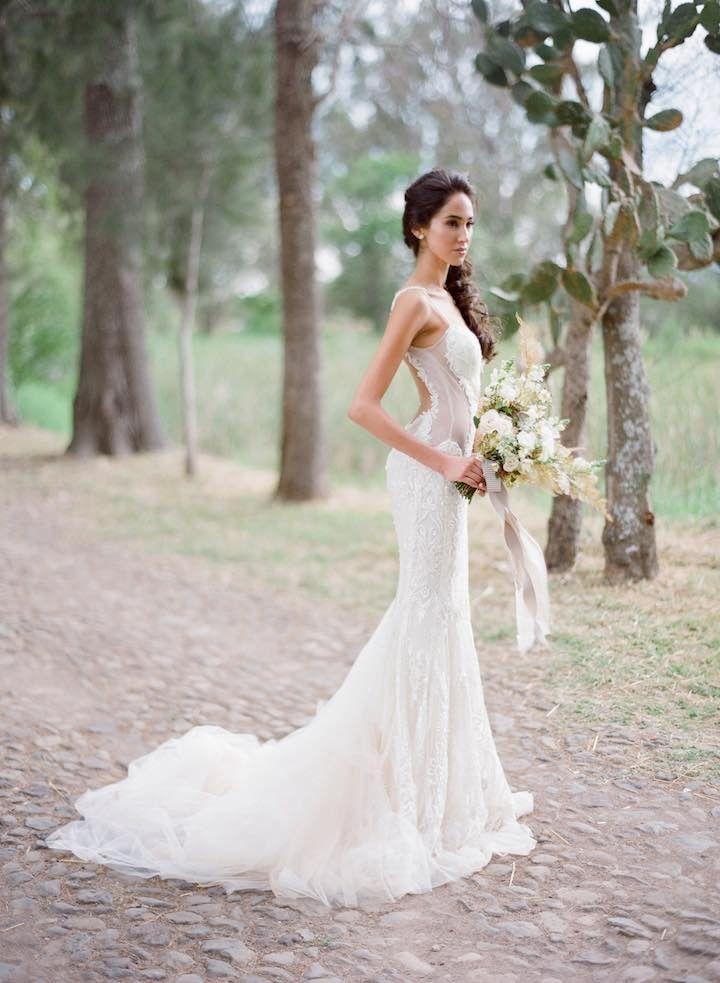 Sexy elegant wedding gowns