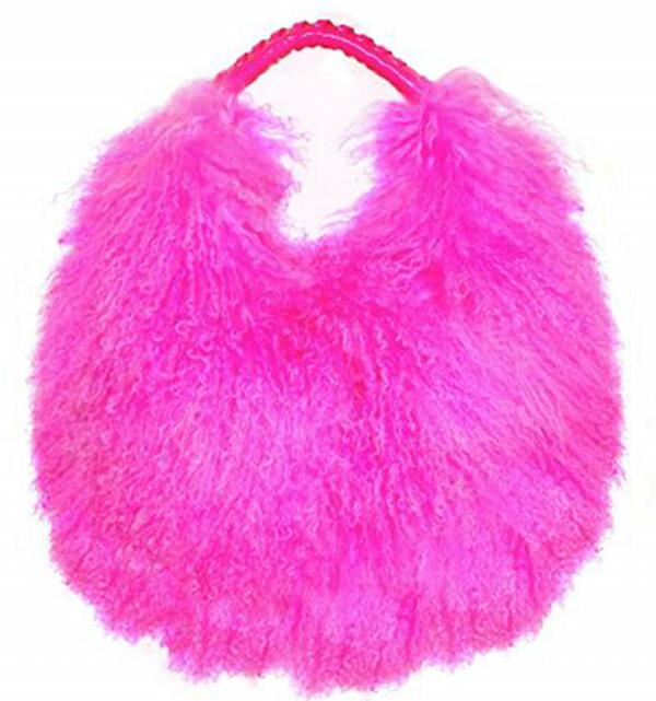 Blumarine Mongolian Fur Bag