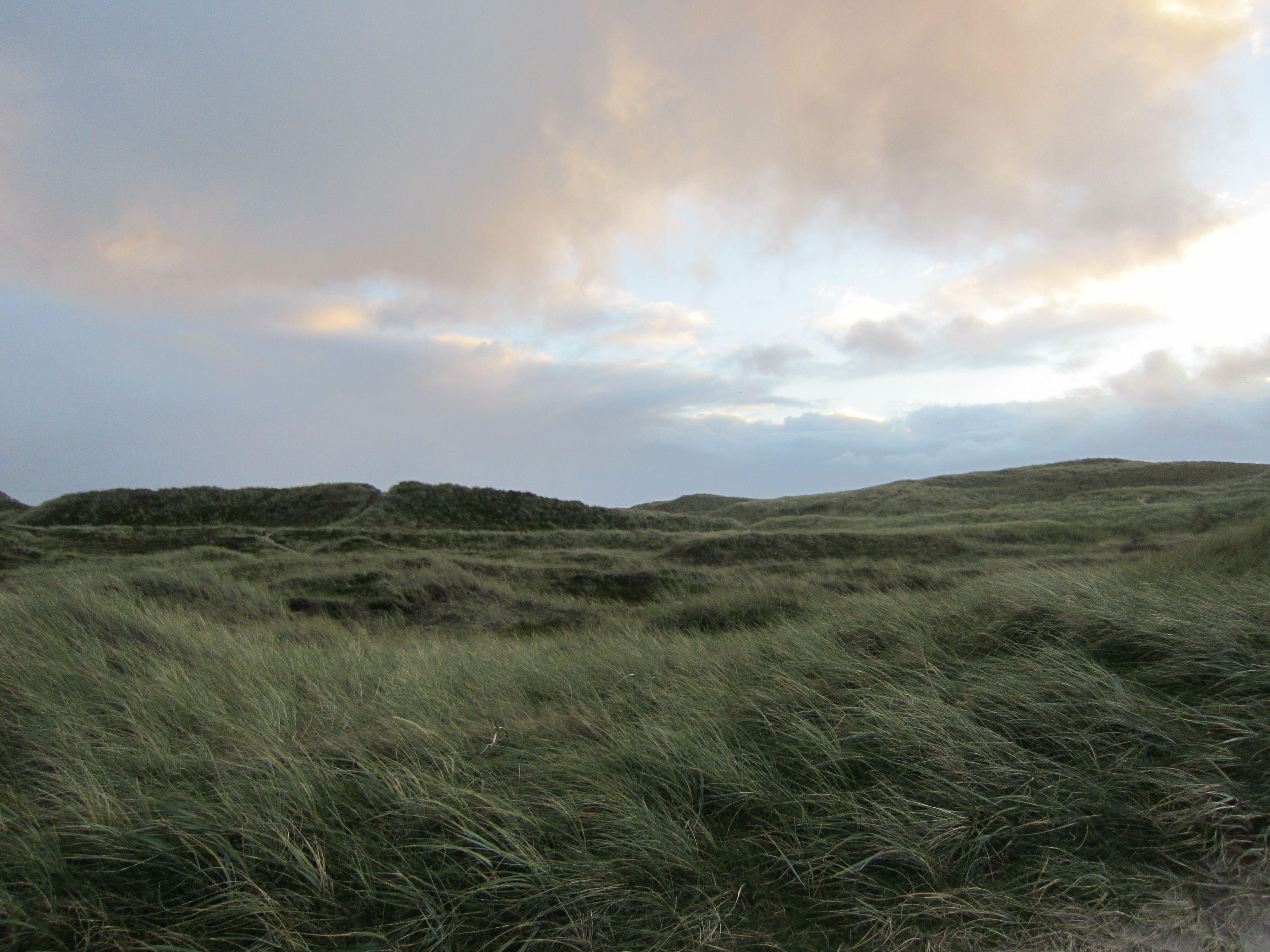 Houvig Strand am Abend denmark houvig nordsee Dänemark Dänemark Pinterest