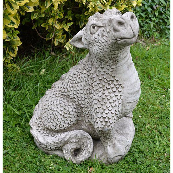 Garden Ornaments, Stone Dragon Garden Ornaments Uk