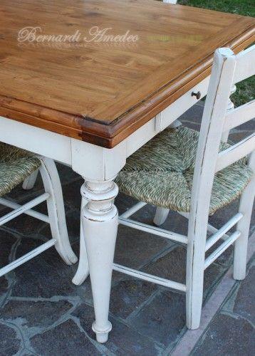 tavoli per cucina rustica - Cerca con Google   mobili ed accessori ...
