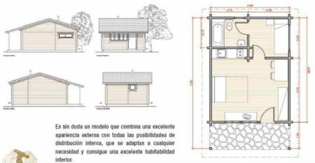 Fotos de planos para construir chalet y caba as de madera person needs very little to be happy - Como hacer una cabana de madera ...
