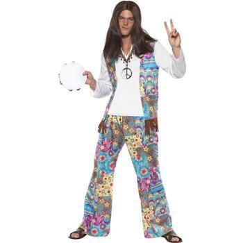 Groovy Hippie Costume   Smiffy s AUS   1960 s Fashion   Pinterest ... 295660a3936