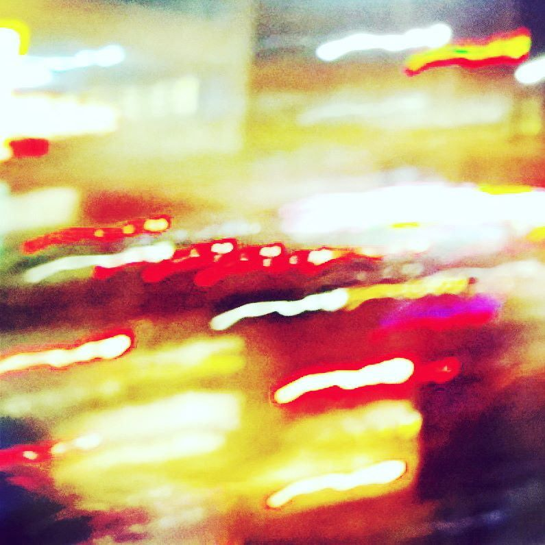 #dtla #downtownla #photo #streets #abstract #abstractphoto #city #photography #dtlalife #losangeles #streetphotography #night #light #yellow #red