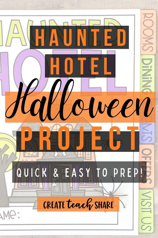 Halloween 2020 Problems Haunted Hotel Halloween Tasks | Halloween Project in 2020