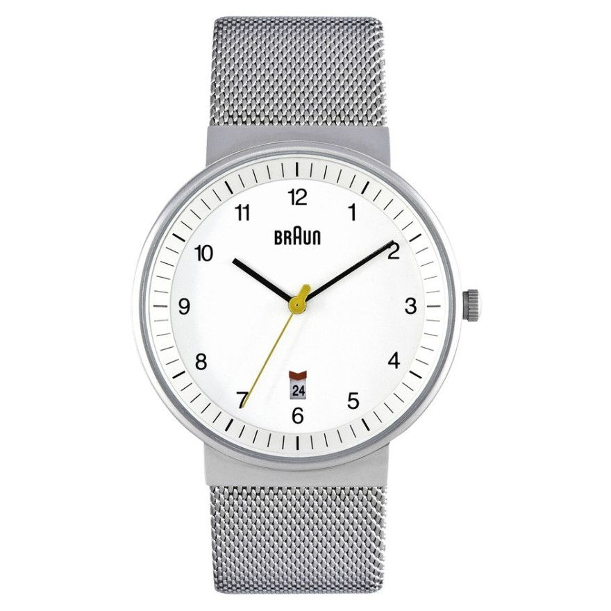 Braun Classic Mens Date Display Watch - BN0032WHSLMHG | Buy Ladies Watches Online - oo.com.au