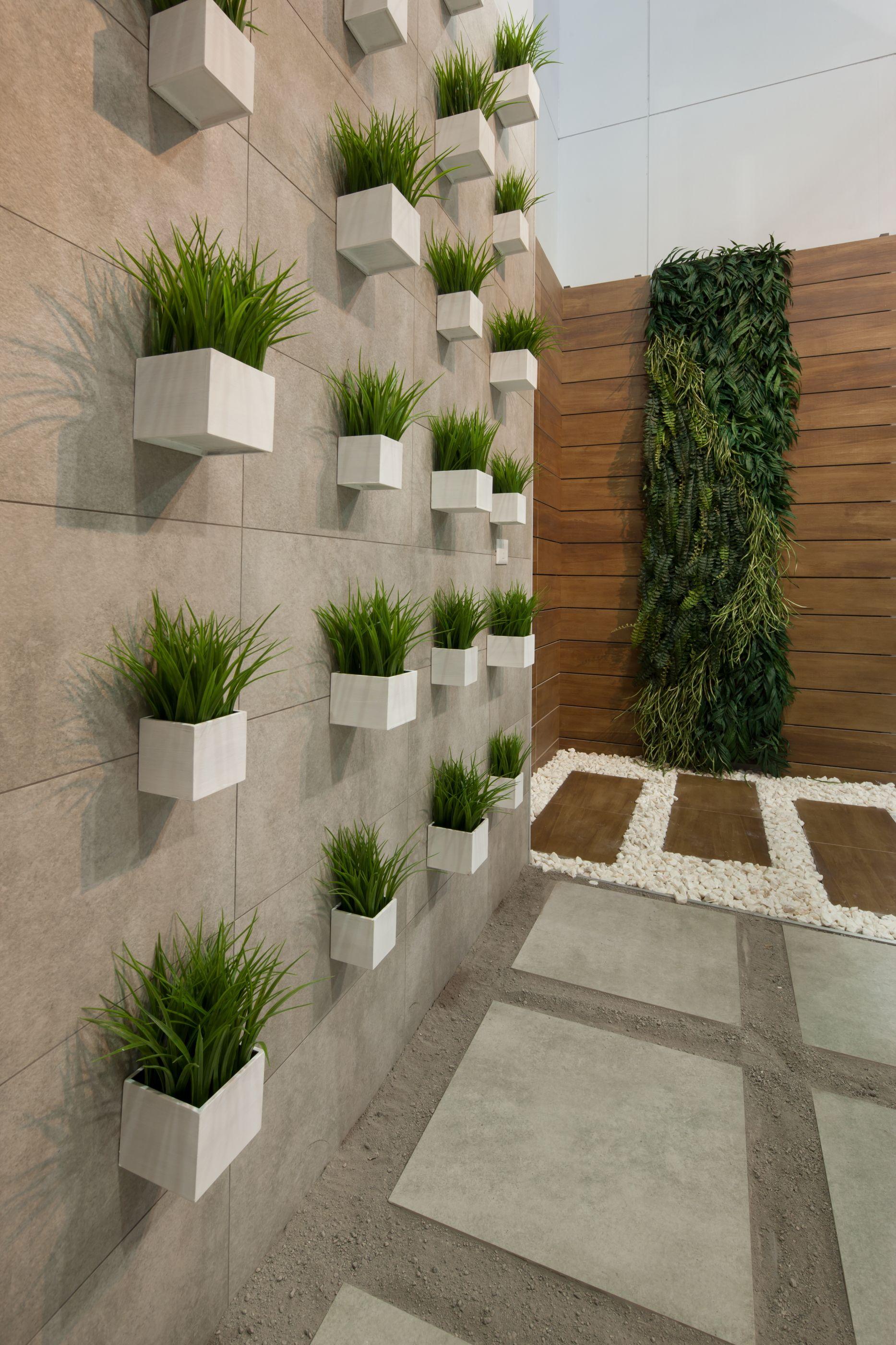 Expo Cihac Garden Wall Decor Garden Wall Designs Outdoor Gardens Design
