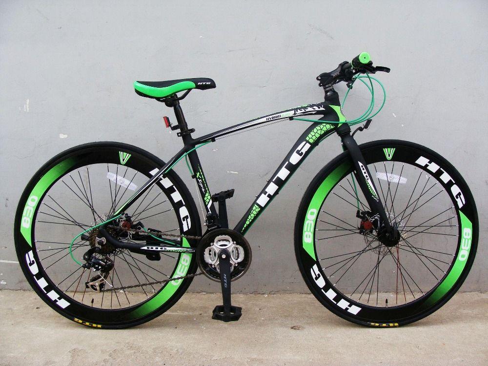 2016 En La Accion Color Rojo Hibrido 700c Bicicleta 700c Bicicleta