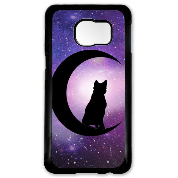 Black Cat Crescent Moon Witchcraft Symbol Case For Htc One M9