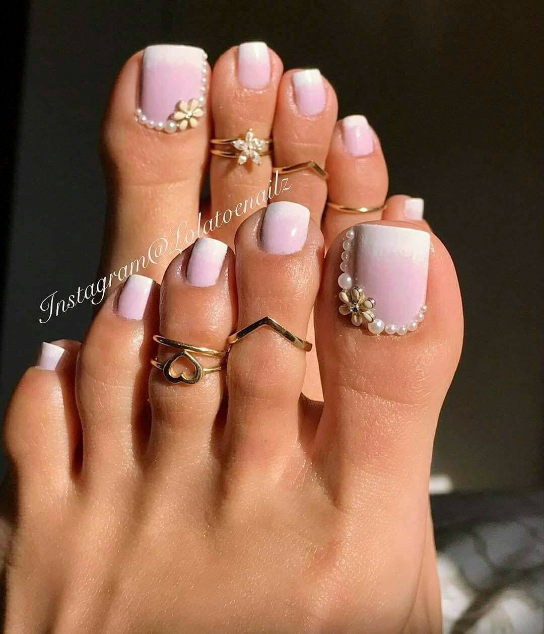 Pedicured feet n Nail\'s | Black Girl News Between Here And Andromeda ...