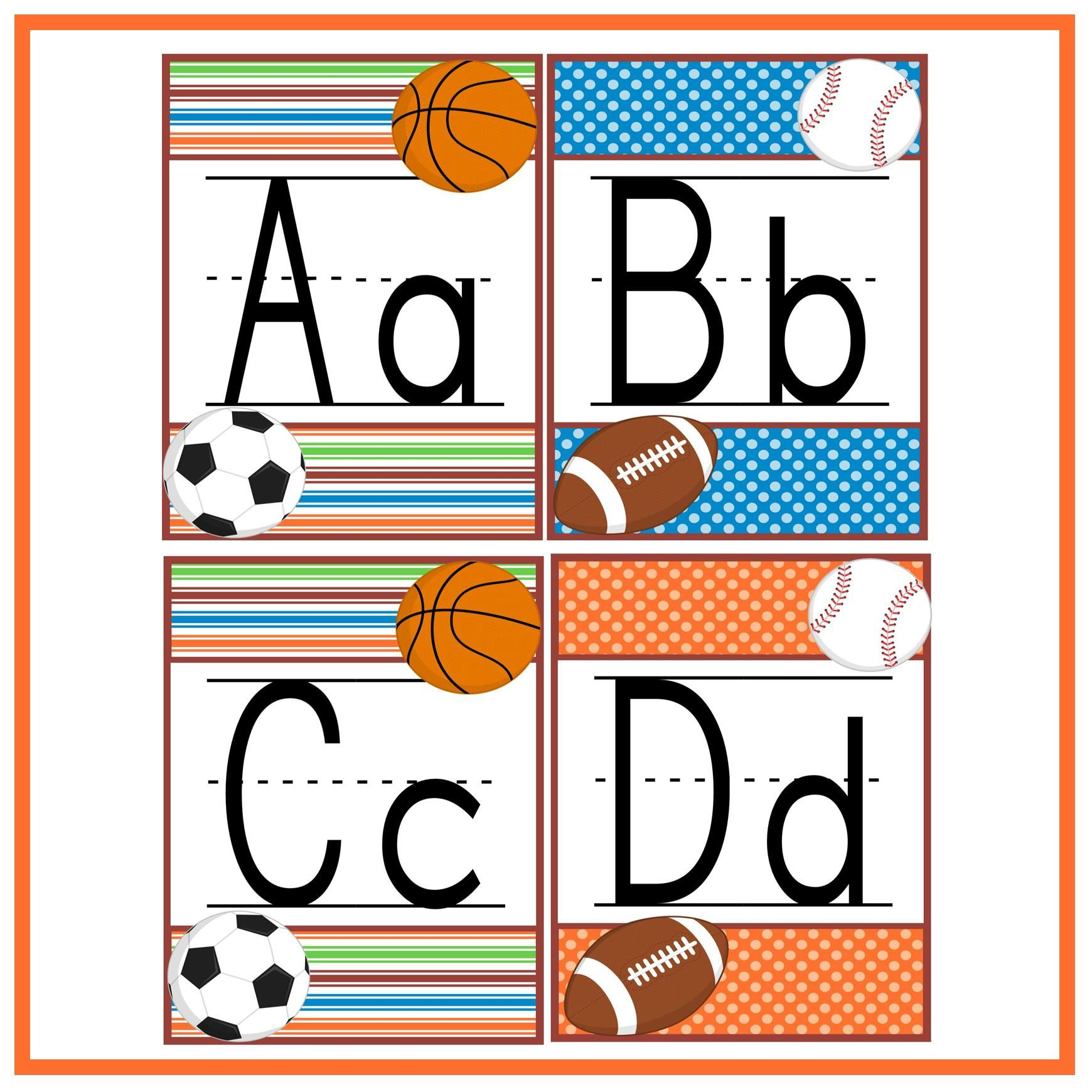 Word Wall Letters Interesting Back To School Letter Line Freebie  Word Walls Letters And Decorating Design