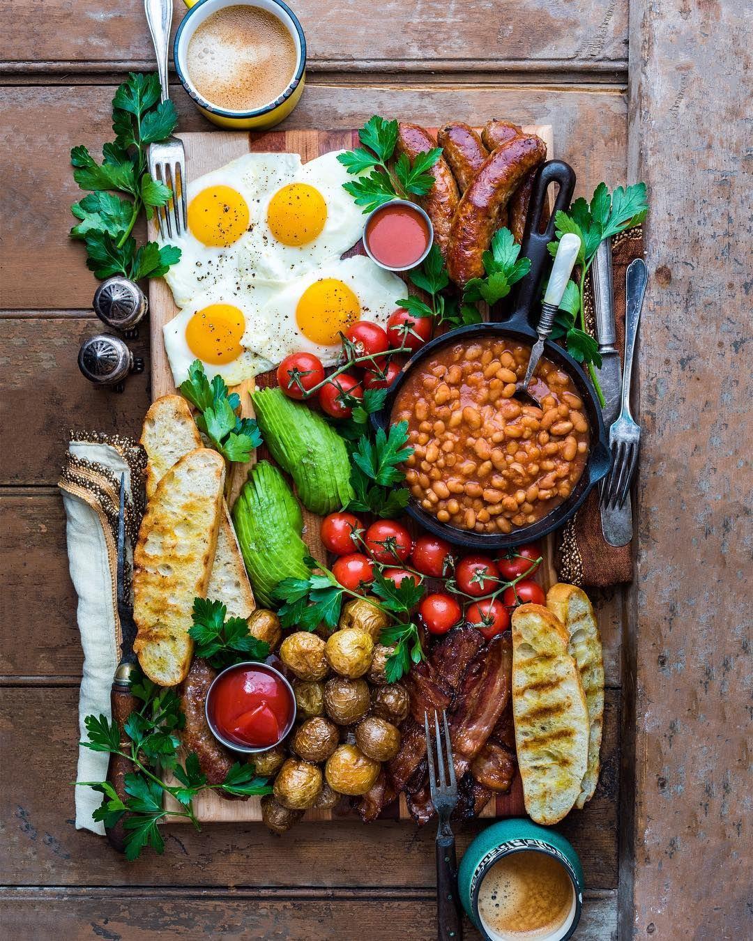 Full English Breakfast dennistheprescott Breakfast in
