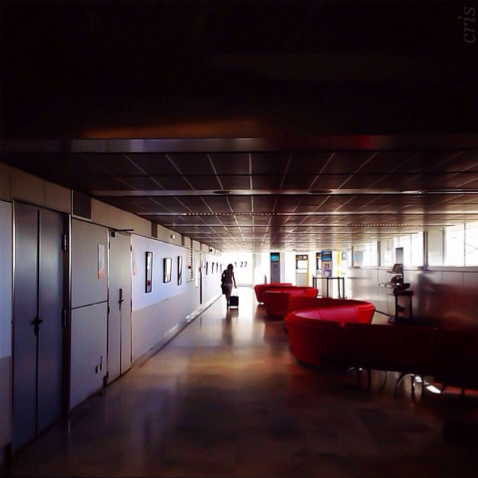 A l'aéroport / Inside the airport © crisss - Instagram #visiteztoulouse #toulouse
