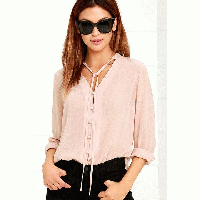 Good News! We just updated our inventory.  Just released Single Breasted V....  See this and more at http://www.shop-iridescence.com/products/single-breasted-v-neck-blouse?utm_campaign=social_autopilot&utm_source=pin&utm_medium=pin  #fashion #sales