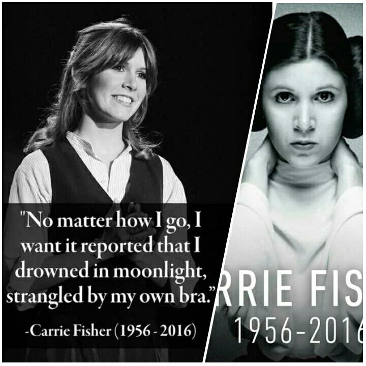 RIP Carrie Fisher :: Princess Leia