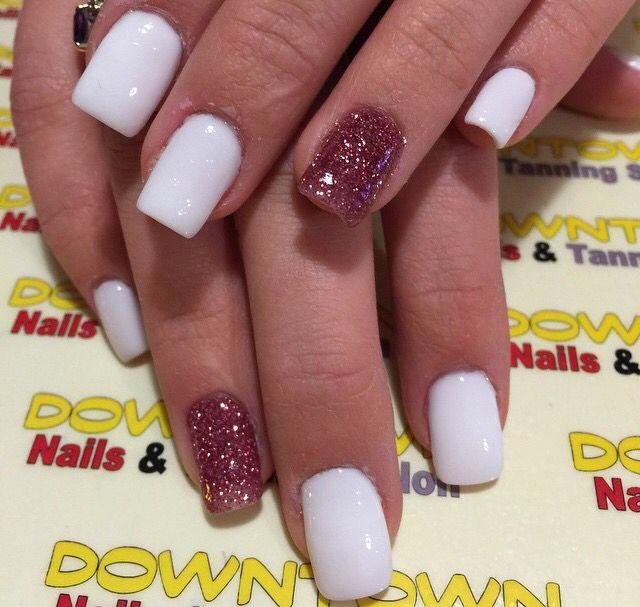 Last set of bright colored summer nails! #ANC #Rowan #