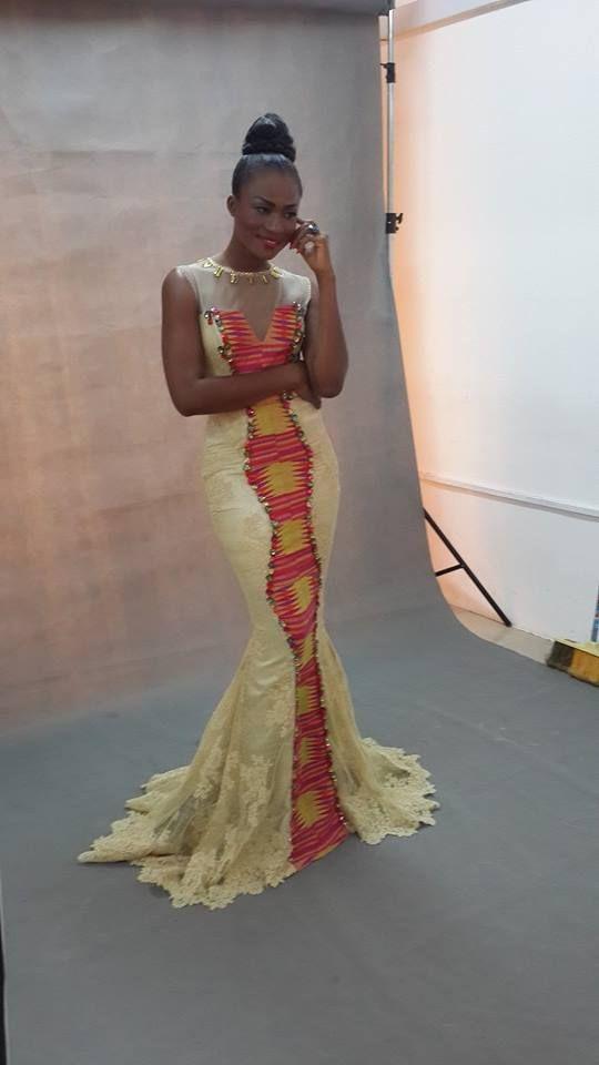 c2100108a0d fckyeahprettyafricans  Ghanaian actress (nigerian) Christabel ekeh Ghana  based 1st runner up for miss malaika ghana Stunning dress