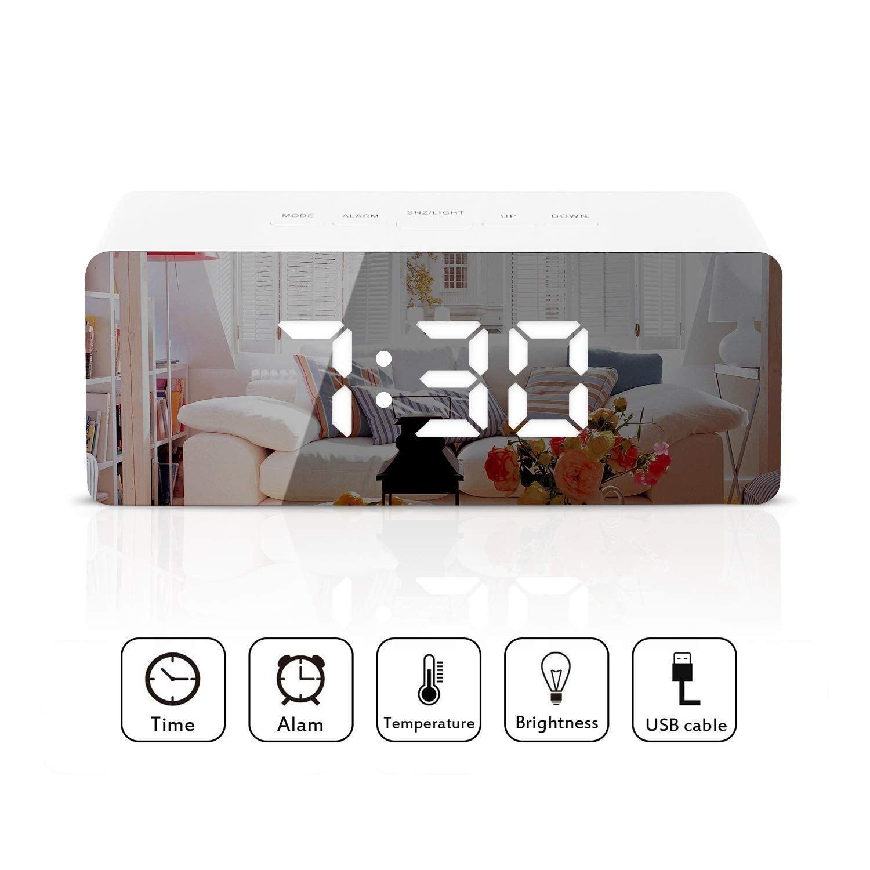 Twfric Despertador Digital Led Reloj Despertadors Digitales Alarmas Dual Funcion Reloj Despertador Digital Multifuncion Led Electronic Products Digital