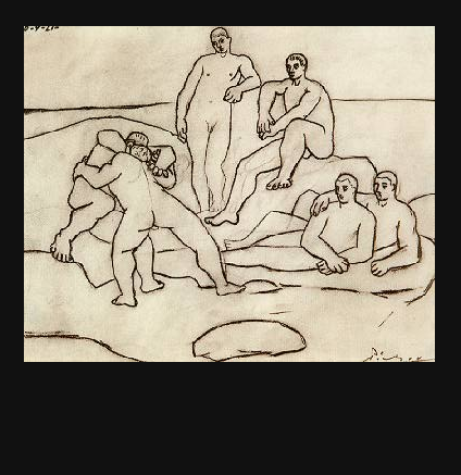The Fighters, Pablo Picasso, 1921 - Private Collection