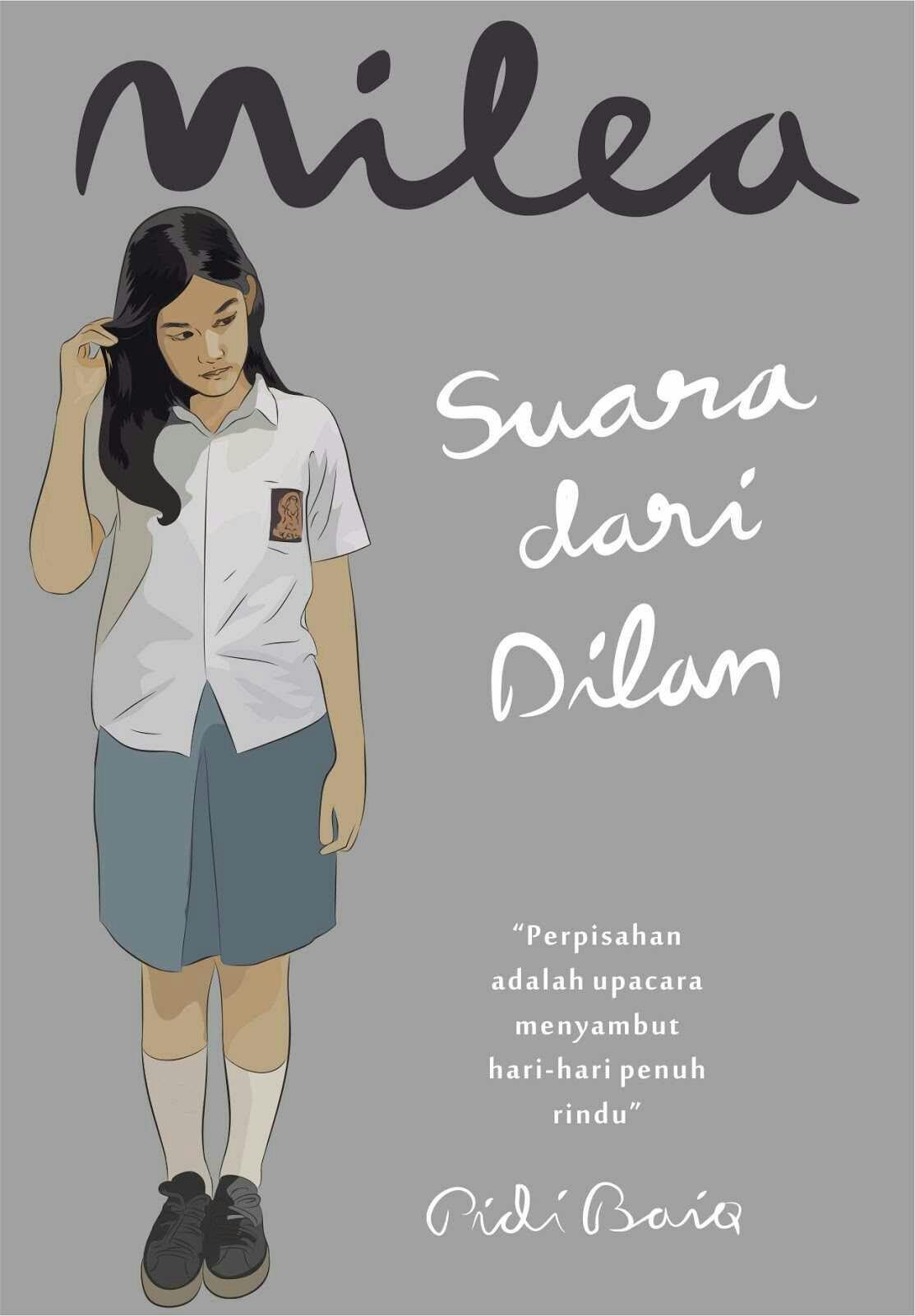 Ebook Milea Suara Dari Dilan Buku Fiksi Buku Film Remaja
