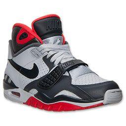 promo code 77294 4efd2 Men s Nike Air Trainer SC II Training Shoes   FinishLine.com   Pure  Platinum Dark Grey Light Crimson
