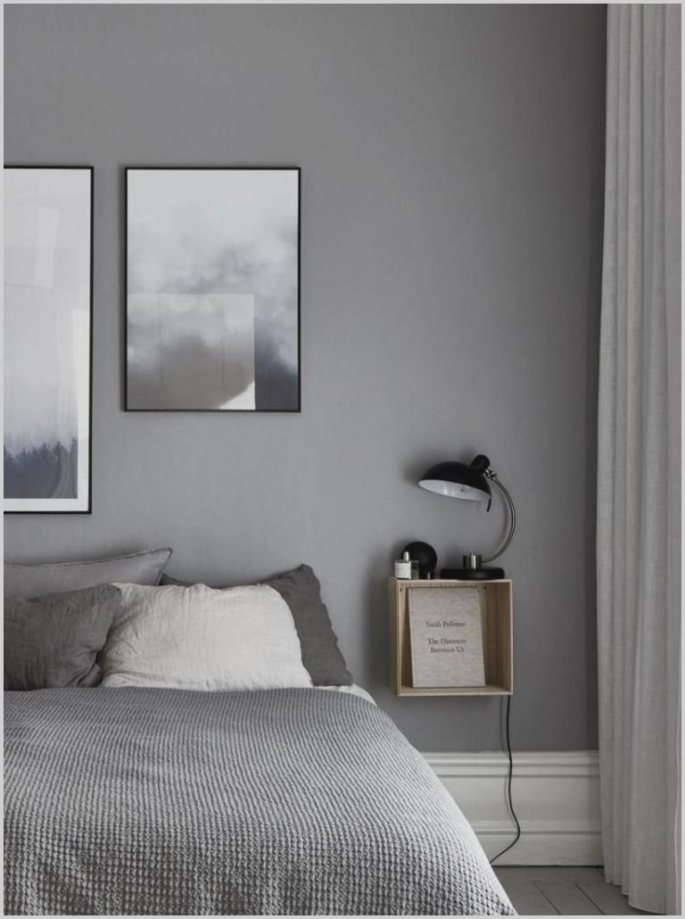 Small Bedroom White And Grey In 2020 Small Bedroom Interior Bedroom Night Stands Small Bedroom Diy