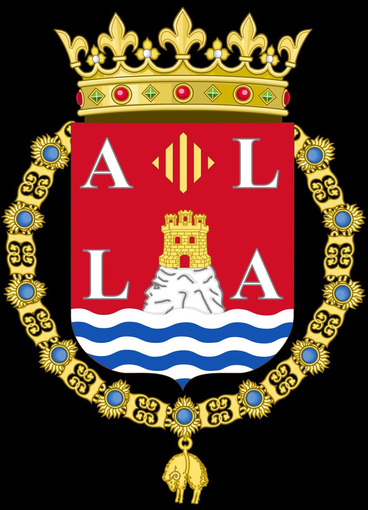 Escudo de la Ciudad de Alicante .   Provincias y Capitales de ...