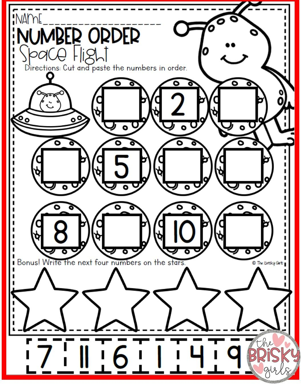 Kindergarten Take Home Packet With Images