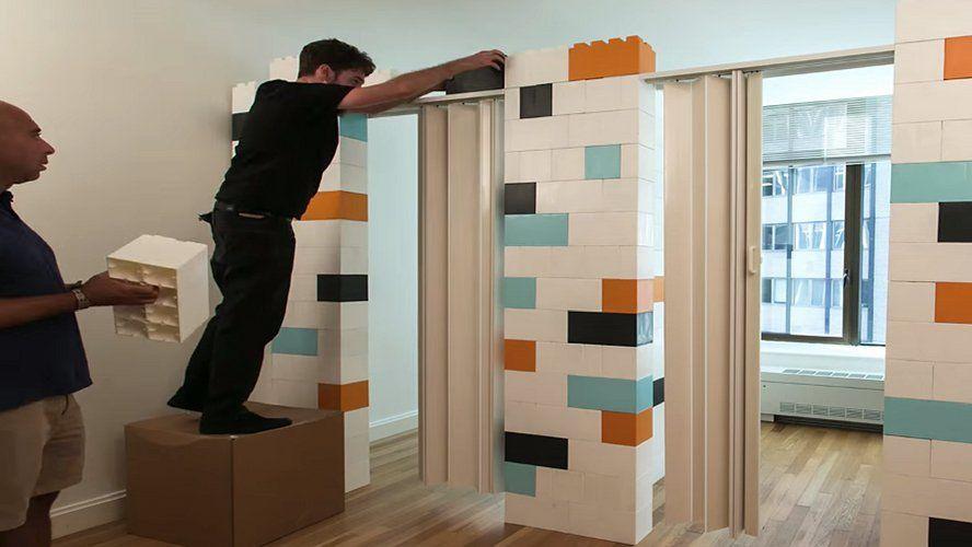 Avec ces légos géants, transformer sa maison devient un jeu d - jeux de construction de maison en d