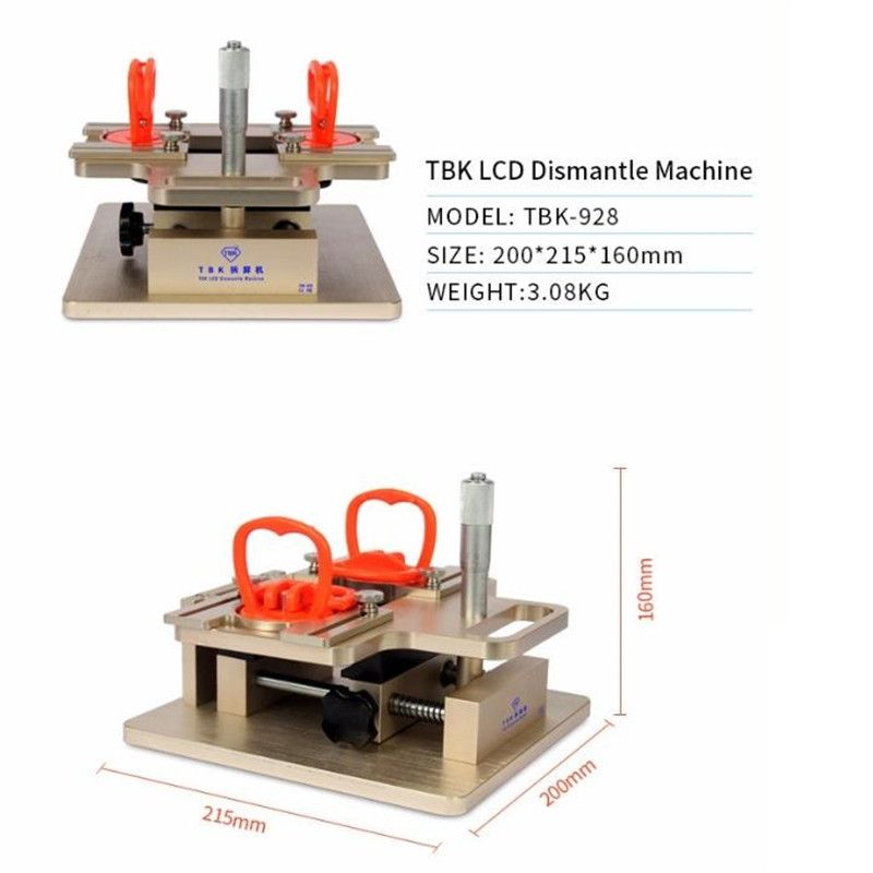 TBK-928 LCD dismantle machine A-frame Separator for samsung ...