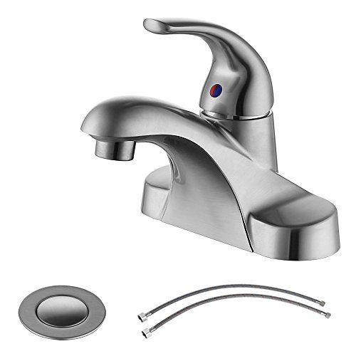 $33 Amazon Parlos Bathroom Sink Faucet With Drain Assembly And Suppl...  Https: