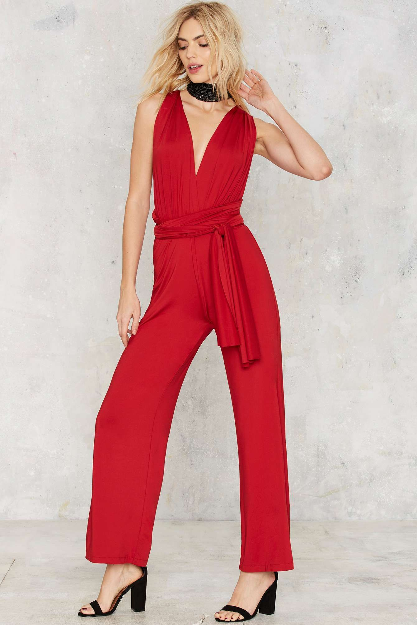 e5d5eb4c9ae5 All Time Low Halter Jumpsuit